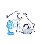 ペンギンとしろくまの夏休み(個別スタンプ:29)