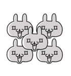 ★★荒ぶる敬語ウサギ!!!!★★(個別スタンプ:29)