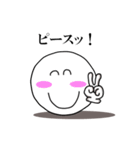 Face and Hand 使える日常1(個別スタンプ:16)