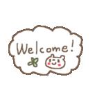 <英語>雑貨風付箋くまさん pop cute bear(個別スタンプ:01)