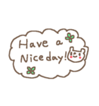 <英語>雑貨風付箋くまさん pop cute bear(個別スタンプ:03)