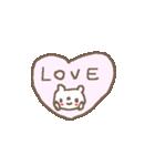 <英語>雑貨風付箋くまさん pop cute bear(個別スタンプ:10)