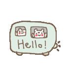 <英語>雑貨風付箋くまさん pop cute bear(個別スタンプ:12)