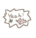 <英語>雑貨風付箋くまさん pop cute bear(個別スタンプ:14)