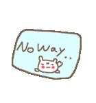 <英語>雑貨風付箋くまさん pop cute bear(個別スタンプ:16)