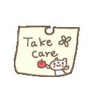 <英語>雑貨風付箋くまさん pop cute bear(個別スタンプ:28)