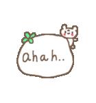 <英語>雑貨風付箋くまさん pop cute bear(個別スタンプ:30)