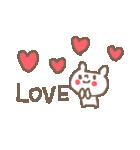 <英語>雑貨風付箋くまさん pop cute bear(個別スタンプ:33)