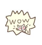 <英語>雑貨風付箋くまさん pop cute bear(個別スタンプ:37)