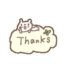 <英語>雑貨風付箋くまさん pop cute bear(個別スタンプ:38)