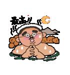 丸刈りちょび髭ミドル(個別スタンプ:09)