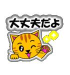 あいづち上手なトラ「3匹のこねこ 4」猫(個別スタンプ:34)