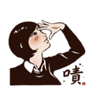 Working Time! Homesickness! (Chinese)(個別スタンプ:11)