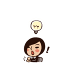 Working Time! Homesickness! (Chinese)(個別スタンプ:20)