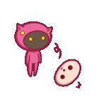 ピンクのパジャマスタンプ(個別スタンプ:13)