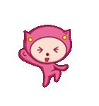 ピンクのパジャマスタンプ(個別スタンプ:16)