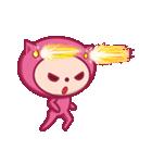 ピンクのパジャマスタンプ(個別スタンプ:21)