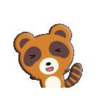 キツネ&タヌキ!(個別スタンプ:02)