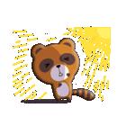 キツネ&タヌキ!(個別スタンプ:22)
