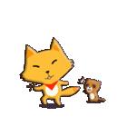 キツネ&タヌキ!(個別スタンプ:28)