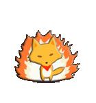 キツネ&タヌキ!(個別スタンプ:37)
