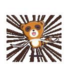 キツネ&タヌキ!(個別スタンプ:40)