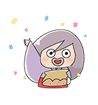 動く!ゆる~いゲゲゲの鬼太郎(個別スタンプ:03)