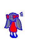 少女モーション(個別スタンプ:1)