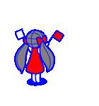 少女モーション(個別スタンプ:35)