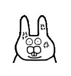 少し腹立つウサギ(個別スタンプ:10)