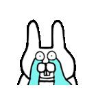 少し腹立つウサギ(個別スタンプ:11)