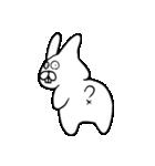 少し腹立つウサギ(個別スタンプ:39)