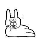 少し腹立つウサギ(個別スタンプ:40)
