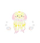 ぷるんと虹色くらげ(個別スタンプ:2)