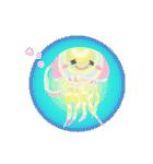 ぷるんと虹色くらげ(個別スタンプ:4)
