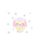 ぷるんと虹色くらげ(個別スタンプ:7)