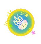ぷるんと虹色くらげ(個別スタンプ:10)