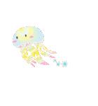 ぷるんと虹色くらげ(個別スタンプ:19)