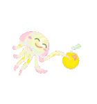ぷるんと虹色くらげ(個別スタンプ:27)