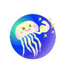 ぷるんと虹色くらげ(個別スタンプ:28)