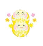 ぷるんと虹色くらげ(個別スタンプ:35)