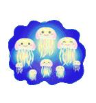 ぷるんと虹色くらげ(個別スタンプ:37)