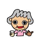 ばあちゃんのためのスタンプ(個別スタンプ:35)