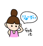 おだんご あーちゃん1(個別スタンプ:03)