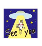 Moonrabbits 月のうさぎ 英語バージョン(個別スタンプ:40)