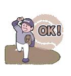 野球なんだ3 シンプル&スタンダード(個別スタンプ:40)