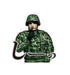 擬音の兵士(個別スタンプ:20)