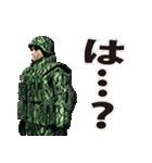 擬音の兵士(個別スタンプ:31)