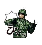 擬音の兵士(個別スタンプ:35)