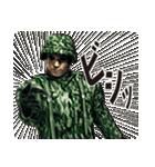 擬音の兵士(個別スタンプ:36)